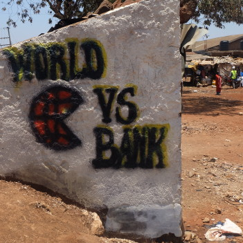World Bank protest in Kenya