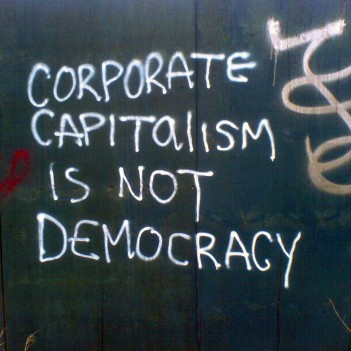 Capitalism is not democracy