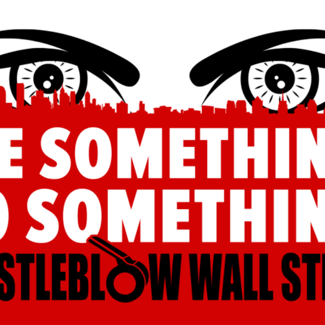 Whistleblow Wall Street
